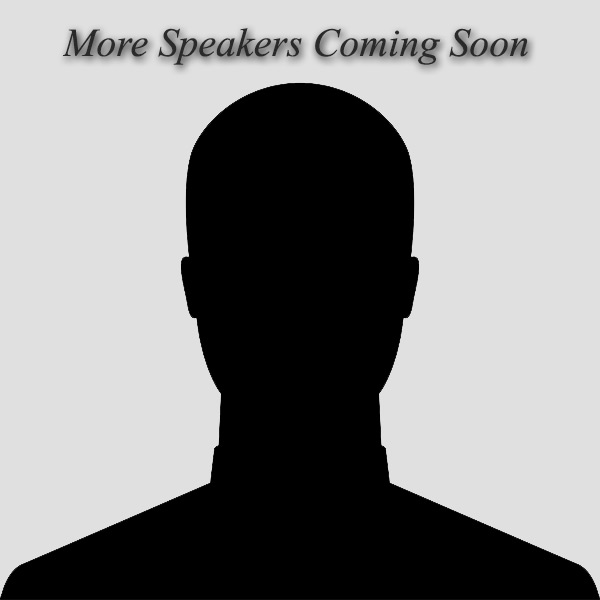 More Speakers Coming Soon